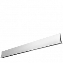 BRAVO Светильник подвесной 39.3W (LED, 3000K), L.1200mm, Hmax.1500mm, grey/matt opal